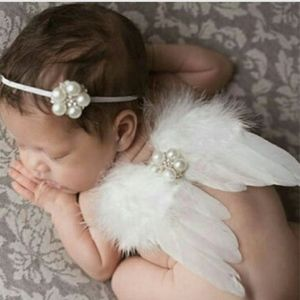 Other - Newborn Photography Prop Angel Wings Head Piece